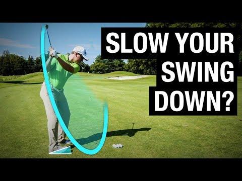 Should I Slow My Swing Down? Myth Explained