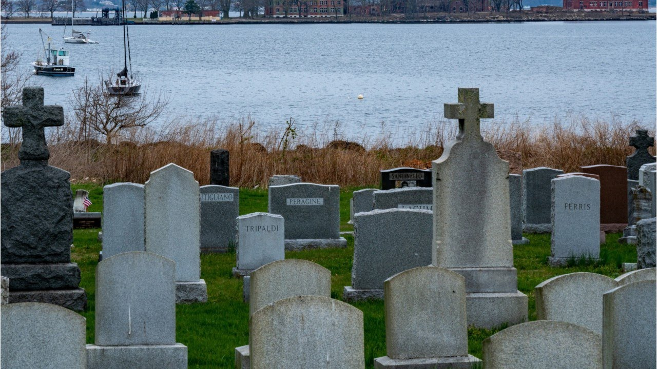 Dozens buried on NY Hart Island a day as coronavirus deaths surge