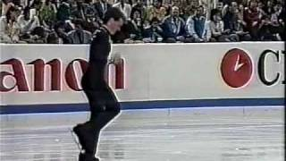 Kurt Browning (CAN) - 1988 Worlds, Men's Long Program
