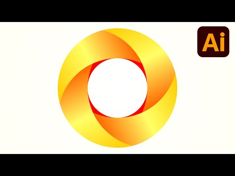 Best logo design | 3D logo design | Circle | Adobe illustrator tutorials | 024 thumbnail