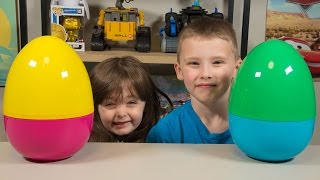 HUGE Toy Surprise Eggs for New Years Blind Bags Toys for Boys & Toys for Girls Kinder Playtime