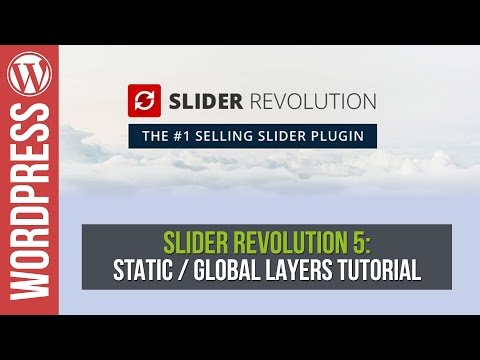 Slider Revolution 5: Global Static Layers Tutorial - 동영상