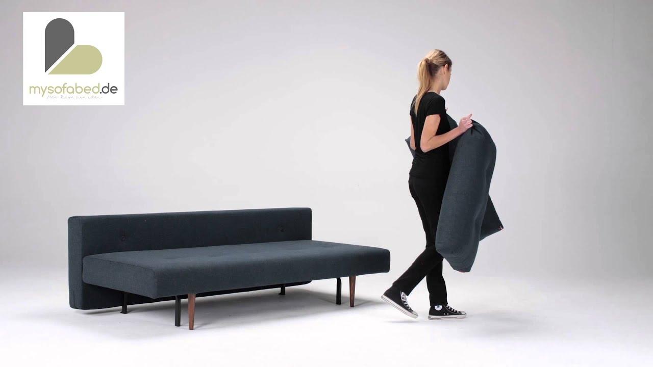 schlafsofa recast mit bettkasten und federkern von. Black Bedroom Furniture Sets. Home Design Ideas