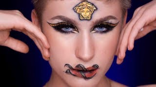 VERSACE INSPIRED MAKE UP LOOK I Ossi Glossy