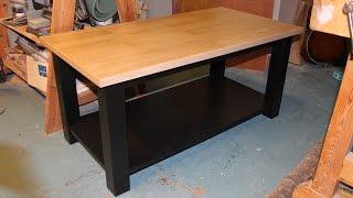 Making an oak coffee table