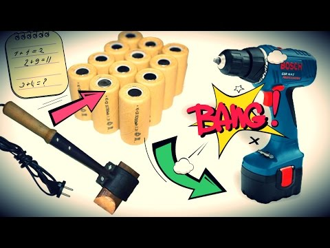 ремонт аккумулятора для шуруповерта своими руками