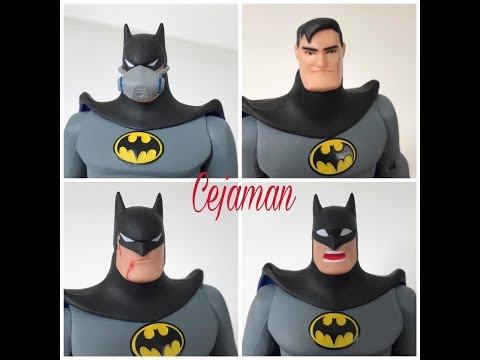 DC Collectibles Batman The Animated Series Figure - Batman Expression Pack