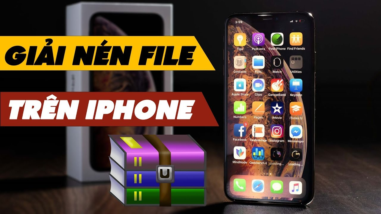 Giải Nén File Cứng Đầu Trên iPhone Cực Đơn Giản | Truesmart