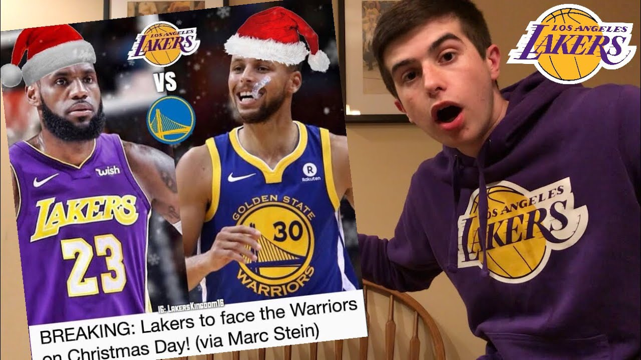 nba christmas day schedule released lakers warriors
