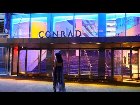 Conrad Luxury Hotel Tour And Loopy Doopy Bar New York