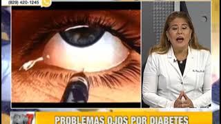 Diabetes a ocular dolor debido