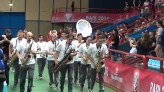 17-06-2016: Bari WGP - La Street Band anima il PalaFlorio