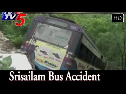 Srisailam Bus Accident Investigation Started  - TV5