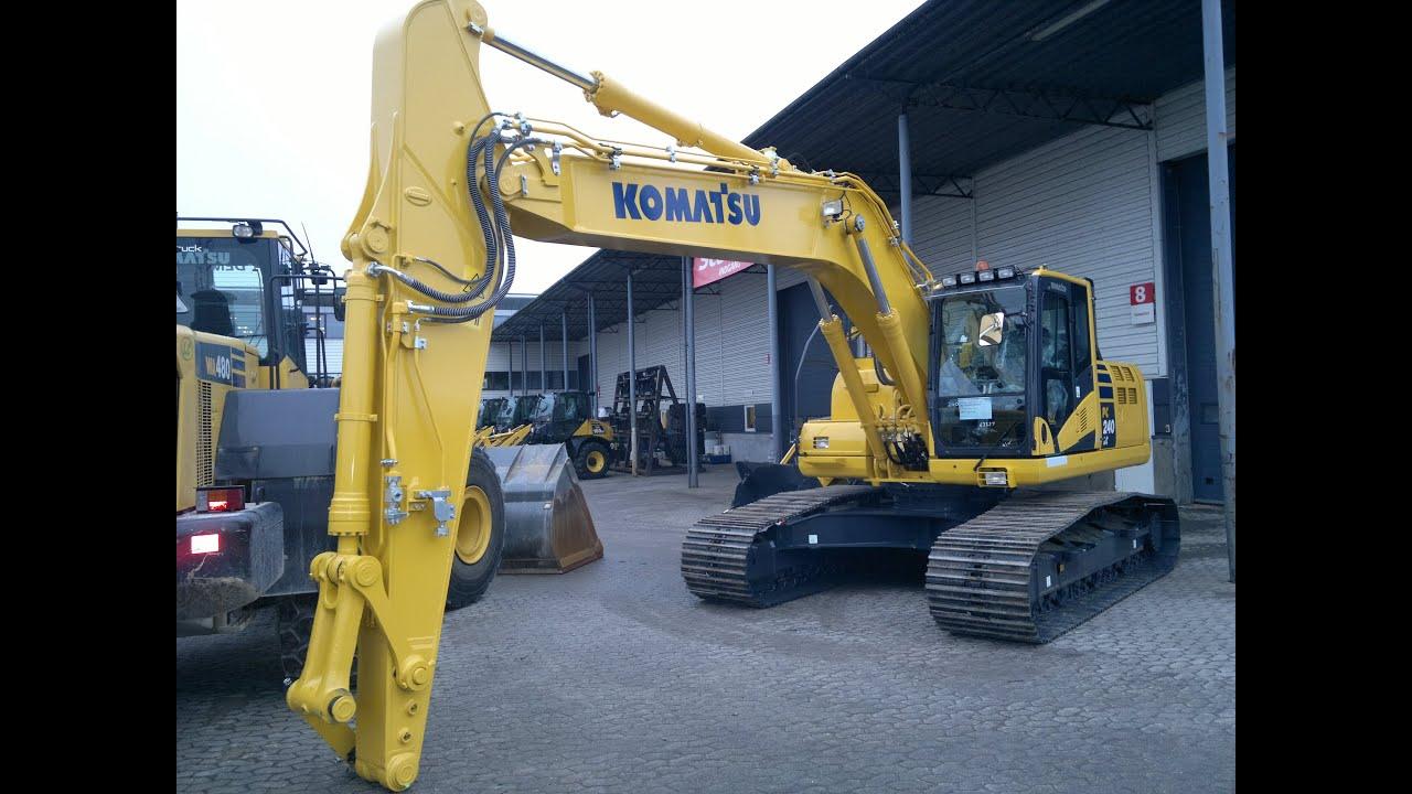 New Komatsu Pc240lc-10 Walkaround
