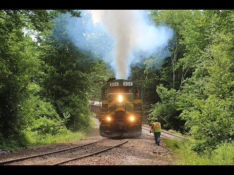 Rocks And Rumble - Chasing Granite Trains Around Vermont's Capitol