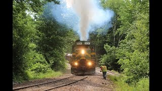 Video Rocks and Rumble - Chasing Granite Trains around Vermont's capitol download MP3, 3GP, MP4, WEBM, AVI, FLV September 2018