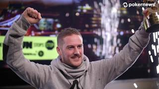 James Williams Wins 2018 888poker Live in London Main Event