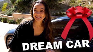 She Got Her DREAM CAR! Car Rides - Merrell Twins