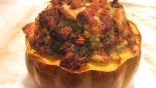 Stuffed Acorn Squash For The Holidays