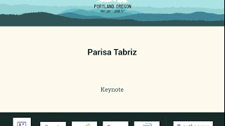 Parisa Tabriz - Keynote - PyCon 2016