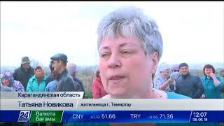 Заложниками пыльных бурь стали жители Темиртау