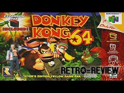 Retro Reseña: Donkey kong 64