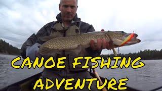 Killarney Solo Canoe Camping Trip: Fantastic Fishing
