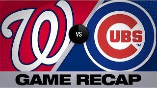 Sanchez, bats lead Nats to win at Wrigley | Nationals-Cubs Game Highlights 8/23/19