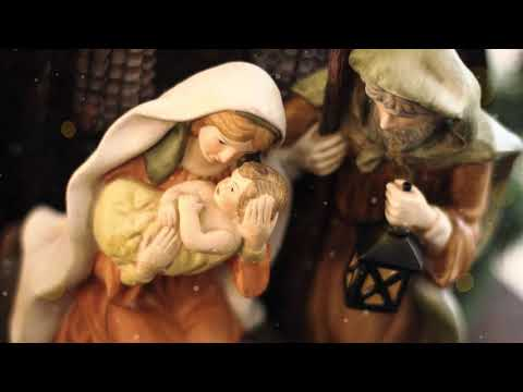 Peaceful Christmas Traditional Instrumental music, 'What Child is This' Nature With Music by Tim Janis