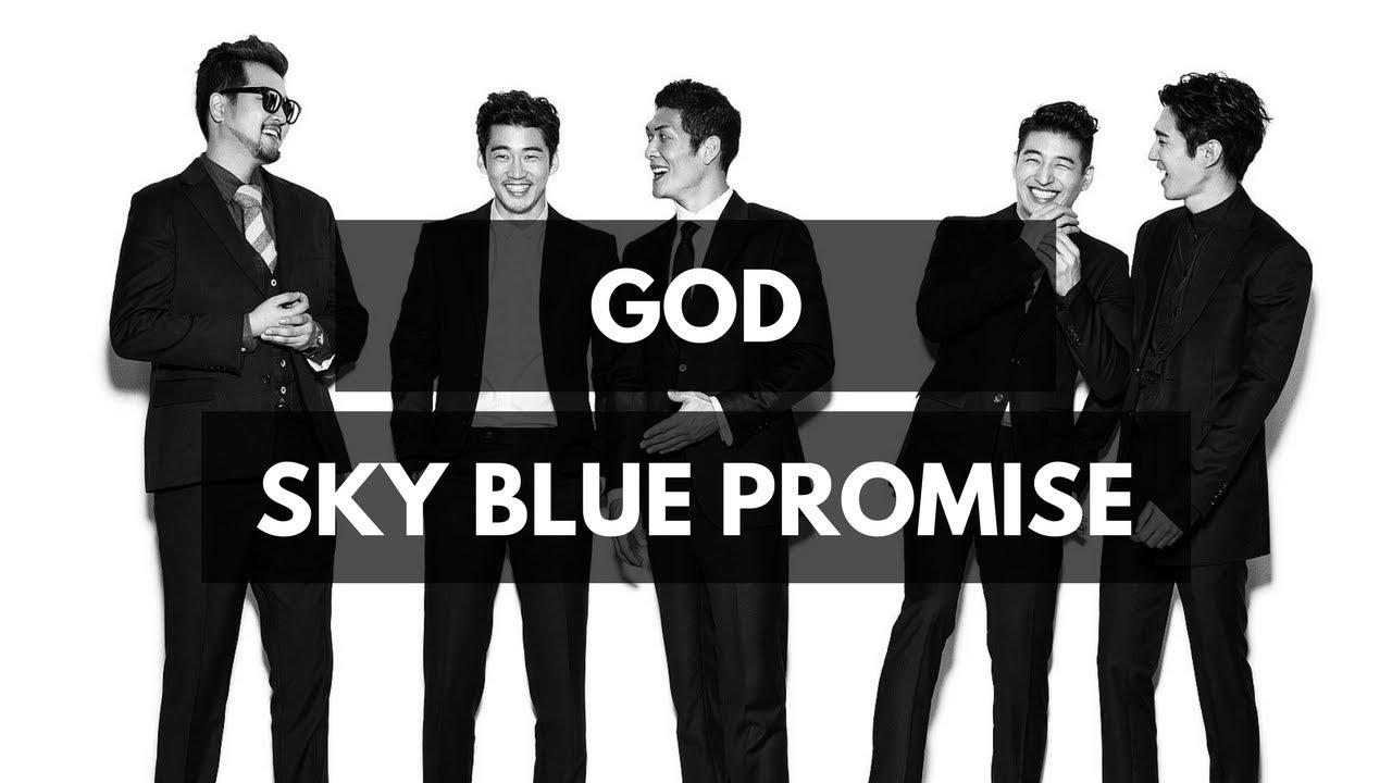 Image result for g.o.d. sky blue promise