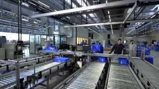 Einblick in das Werk von HAWE Hydraulik in Kaufbeuren