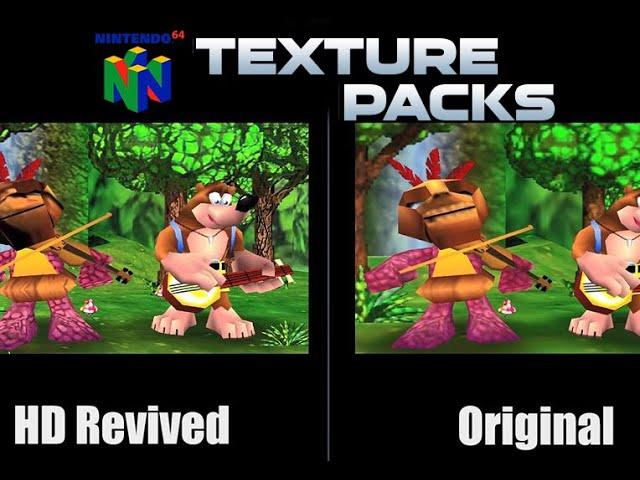 Topaz GigaPixel N64 AI-Enhanced HD Texture Packs Released