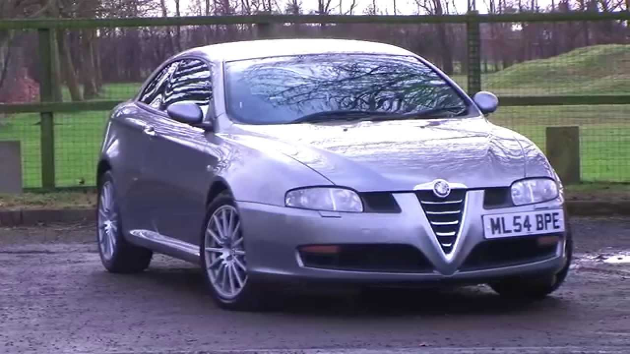 alfa romeo gt 3 2 2dr full history heated seats youtube. Black Bedroom Furniture Sets. Home Design Ideas