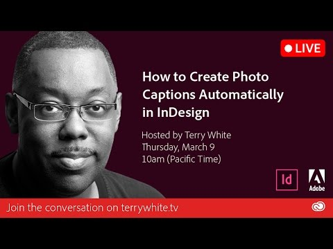How to Automatically Generate Photo Captions in your InDesign Layout