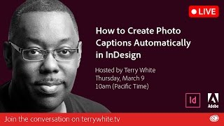 How to Automatically Generate Photo Captions in your InDesign Layout - InDesign| Educational