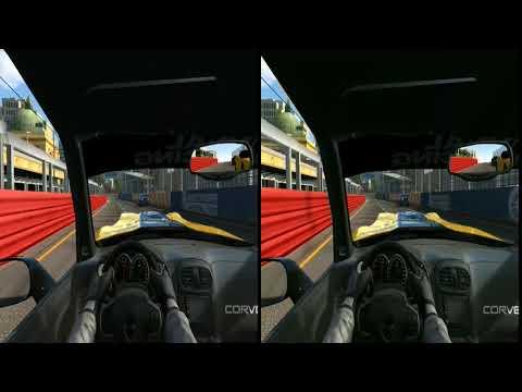 Cheverolet Corvette , Cockpit Cam Race , Vr Headset , Real Racing 3