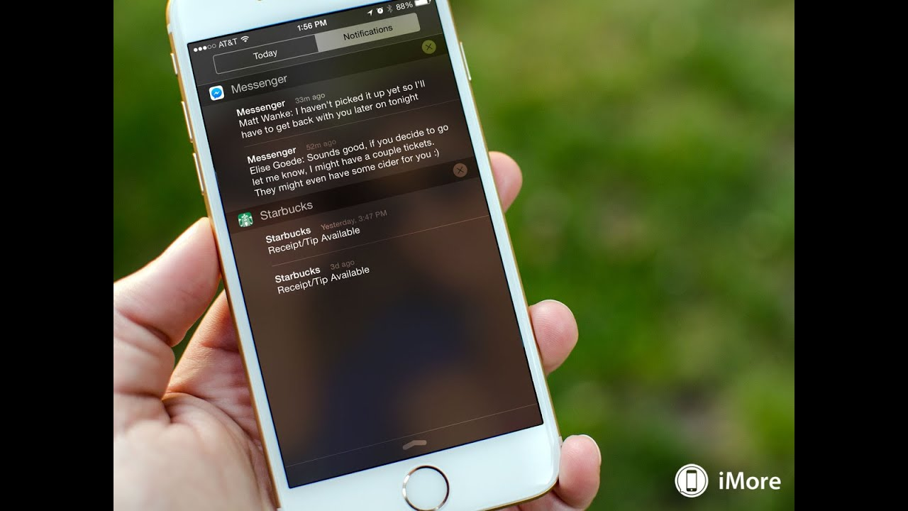 iPhone 6S IOS 9 notification android APK Download