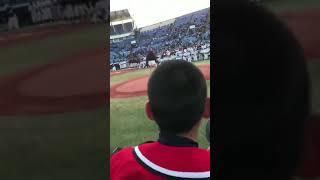 稲村亜美をリトルシニア開会式の始球式直後に襲った一部始終を、男子中学生が盗撮していました。