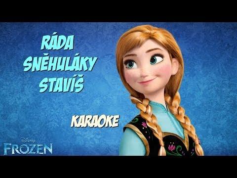 Ledové království - Ráda sněhuláky stavíš - karaoke/instrumental
