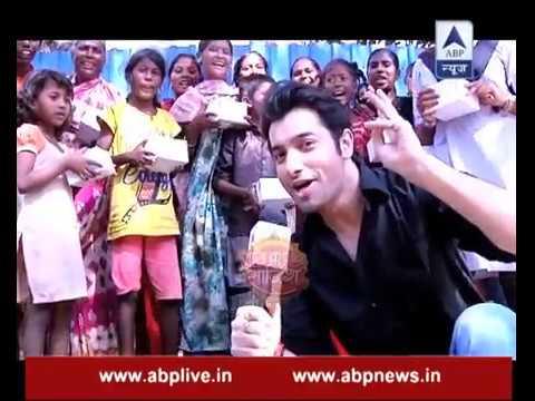 Ssharad Malhotra aka Rishi celebrates New Year with slum kids
