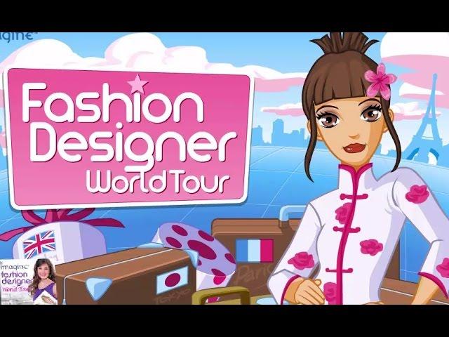 Cartoon Fashion Designer