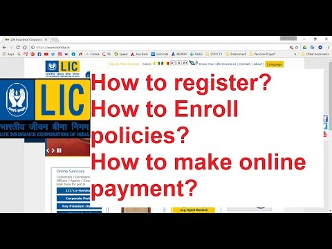 Online Register LIC Insurance Ll Online Payment Ll Enroll Policies STEP BY STEP IN TAMIL &ENG Sub