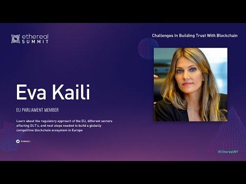 EVA KAILI - Challenges In Building Trust With Blockchain