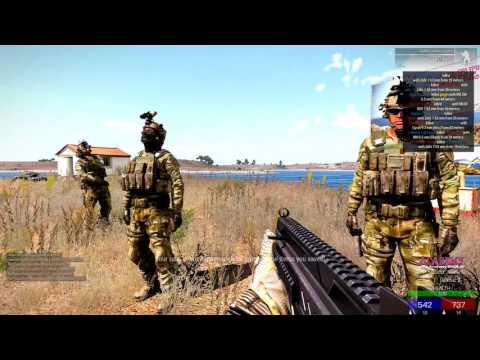 The Best ArmA 3 players in the world... Part 2 CHANDLERS WARCRY