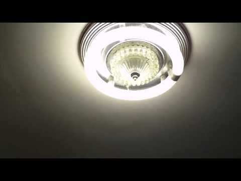 Pre Heat Circline Fluorescent Fixture - YouTube