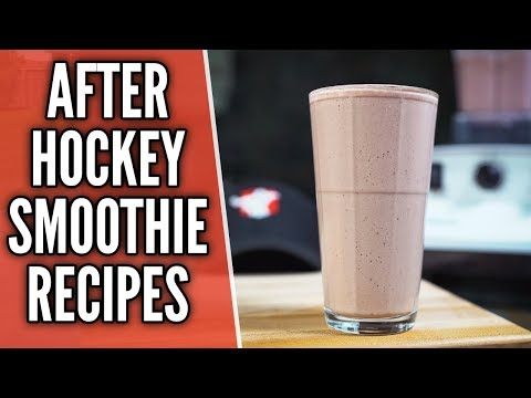 After Hockey Smoothies 🏒