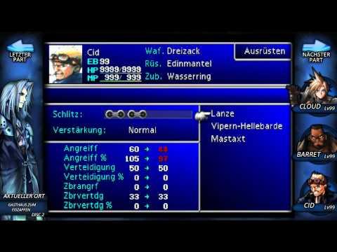 Final Fantasy VII - #45 - [Perfect Game]: Professor Gast