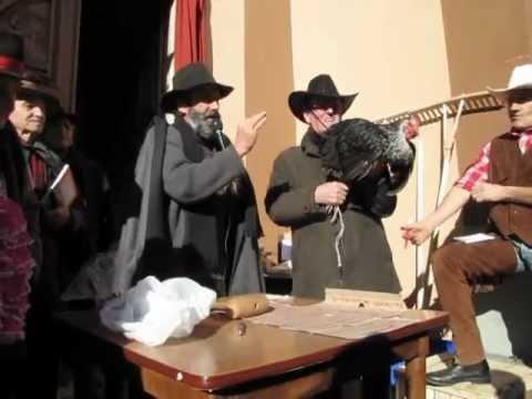 Anzola di Bedonia PR S Antonio incanto 2° parte 17-01-2012.wmv