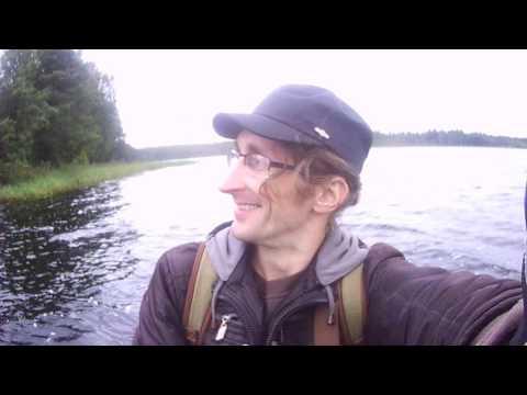 С другом на Окуловском озере ... =)