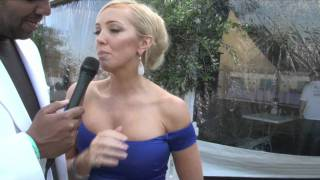Aisleyne Horgan-Wallace Interview for iFILM LONDON / DUKE OF ESSEX POLO TROPHY.